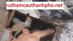 Quy trình tiếp nhận và yêu cầu thông cống nghẹt tại ruthamcauthanhpho.net