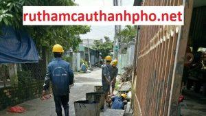 Quy trình làm việc thông cống nghẹt ruthamcauthanhpho được thực hiện như sau: